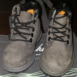 Size 4.5c Timberland boots